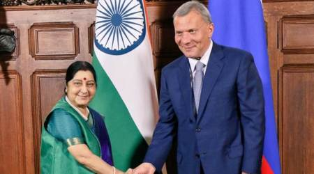 India attaches 'highest importance' to ties with Russia: SushmaSwaraj