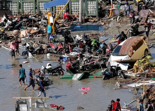 Indonesia: Earthquake triggered-tsunami claims more than 800 lives, leaves trail of destruction
