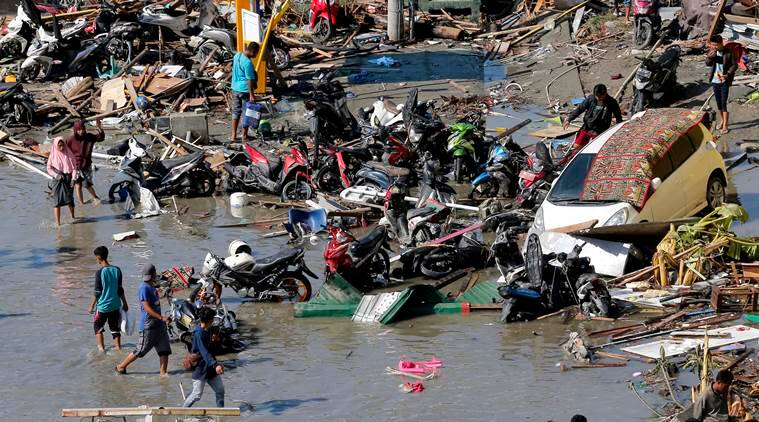 Death toll from Indonesia natural disaster  and tsunami now 1,234