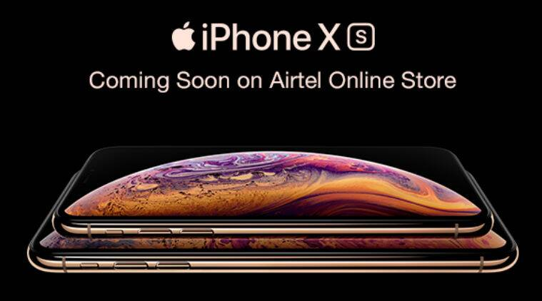 Apple iphone xs iphone xr series pre order on airtel online store open sept 21