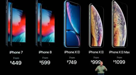Apple, iPhone XS Max, Apple iPhone XS Max, iPhone XS Max price in India, Apple iPhone XS, iPhone XS price in India, iPhone 8, iPhone 8 Plus price in India
