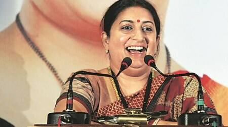 Was Nehru a squeamish leader, asks Smriti Irani at Sardar Patel book launch