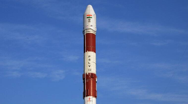Science and technology in India, Polar Satellite Launch Vehicle, Spacecraft, Space programme of India, Spaceflight, Indian Space Research Organisation, Sriharikota, Satellite Launch Vehicle, PSLV-C37, PSLV-C38, Satish Dhawan, Andhra Pradesh