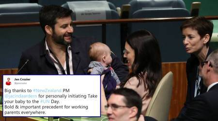 'The world needs this': New Zealand PM takes 3-month-old baby to UNGA session, netizens cheer