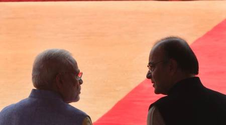 Arun Jaitley, Narendra Modi, arun jaitley economy, jaitley fiscal deficit, modi economic review, current account deficit, Indian forex reserve, indian economy, indian imports, indian exports, modi jaitley meeting, rupee fall, gdp