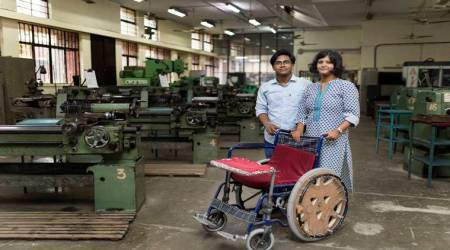 Two IIT-Delhi students' design convenient wheelchair, win India James Dyson award