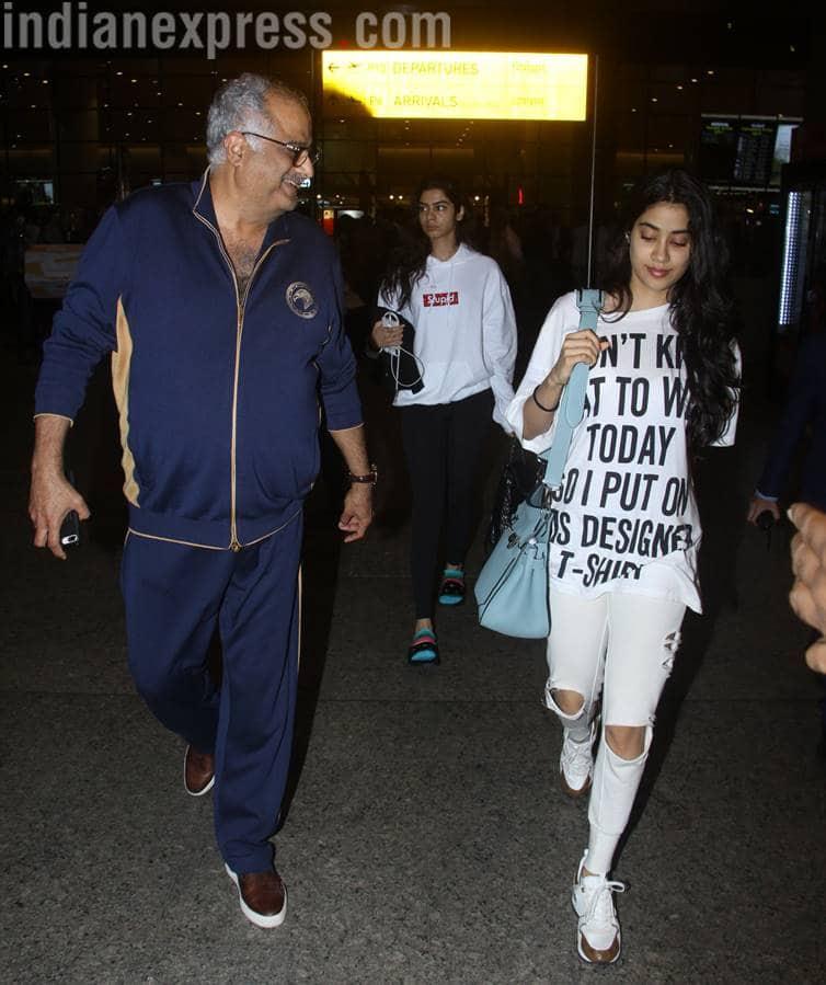 Janhvi Kapoor, Yami Gautam, Suhana Khan, airport looks