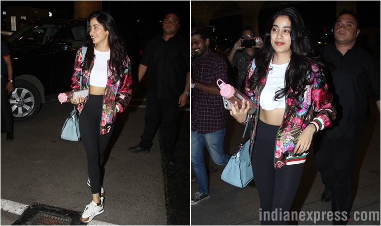 Best airport looks, Best airport looks bollywood, Aishwarya Rai Bachchan, Janhvi Kapoor, Yami Gautam, celeb fashion, bollywood fashion, indian express, indian express news