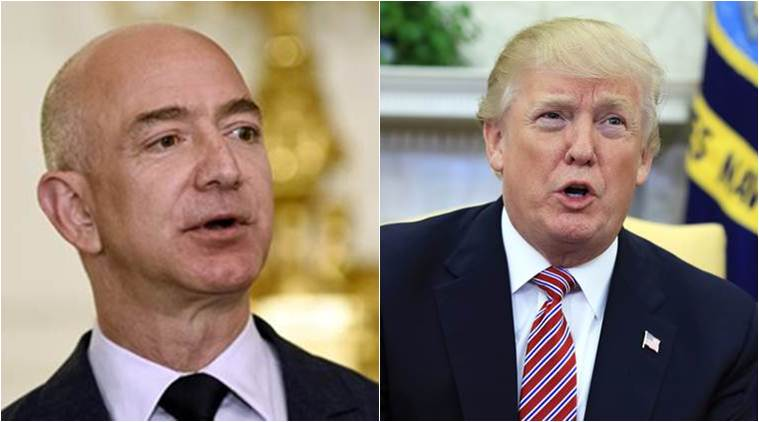 Amazon's Jeff Bezos says Donald Trump should be 'glad' of media scrutiny
