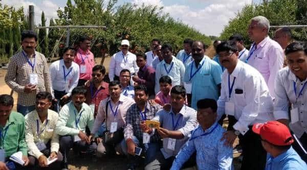 Jharkhand farmers visit Israel