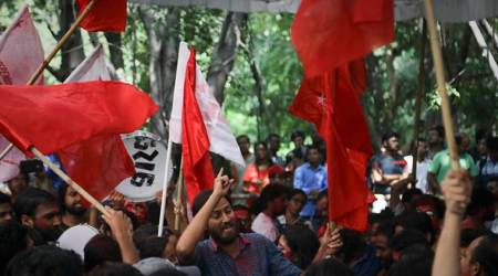 Students' union polls: Left paints JNU red, ABVP is second
