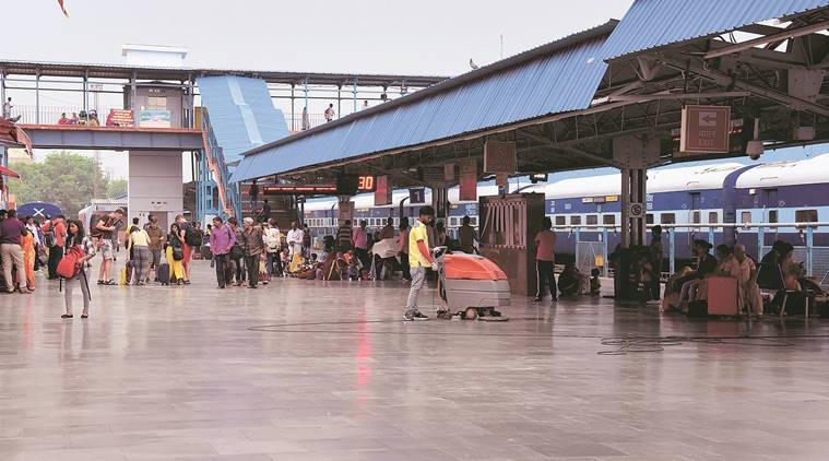 Cleanest station: Jodhpur-Till a train that halts for two hours chugs in