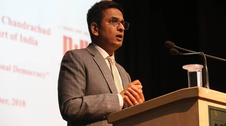 Justice Chandrachud: Can't muzzle voices in opposition