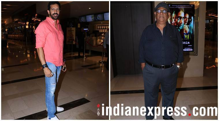 Kabir Khan and Satish Kaushik