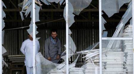 At least seven killed in blast near procession in Afghancapital