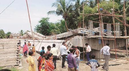 West Bengal: Bridge collapses inKakdwip