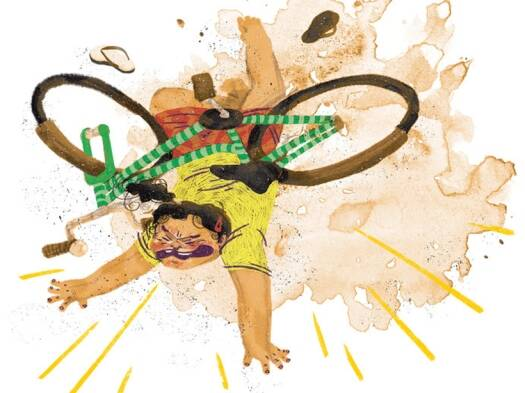 Short story for kids: Kalpana's Cycle by Sowmya Rajendran