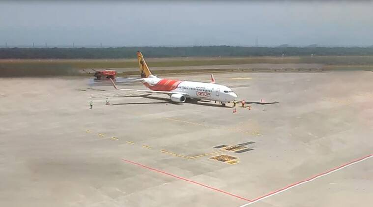 kannur airport, air india, air india kannur airport test flight, airports in kerala, kannur international airport, kerala tourism, indian express