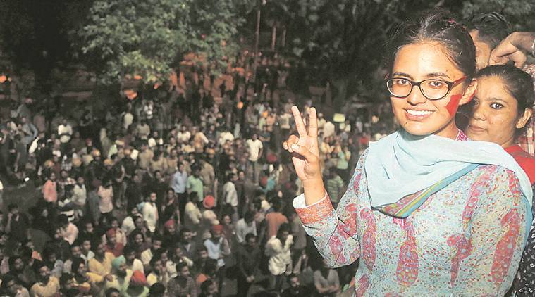 Left-leaning 22-year-old breaks Panjab University's male bastion, asks RSS to not interfere