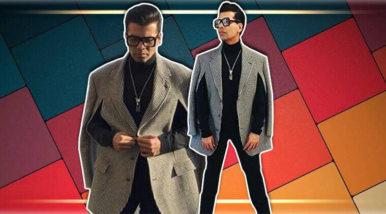 Paris Fashion Week 2018 Karan Johar Looks Uber Chic At Gucci S Curtain Raiser Lifestyle News The Indian Express