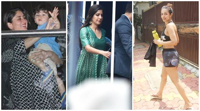 Celeb spotting: Kareena Kapoor, Katrina Kaif, Malaika Arora and others