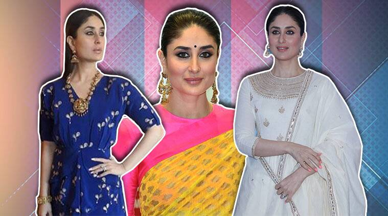 Kareena Kapoor Khan, Kareena Kapoor Khan birthday, Happy Birthday Kareena Kapoor Khan, Kareena Kapoor birthday, HBD Kareena Kapoor Khan, Happy Birthday Kareena Kapoor, Kareena Kapoor Khan ethnic wear, Kareena Kapoor traditonal attires, Kareena Kapoor Manish Malhotra, Kareena Kapoor Khan Sonam Kapoor reception, Kareen Kapoor Khan sari, Kareena Kapoor sari, Kareena Kapoor Khan Masaba Gupta, Kareena Kapoor Khan salwar suit, Kareena Kapoor Khan Raw Mango, Kareena Kapoor Khan updates, Kareena Kapoor Khan latest pics, celeb fashion, bollywood fashion, indian express, indian express news
