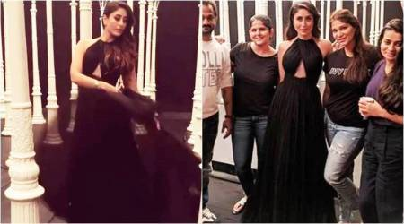 Kareena Kapoor Khan's twirl-worthy black gown is all you need for a glam evening