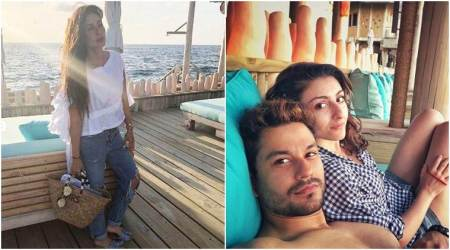 Kareena Kapoor and Saif Ali Khan's Maldives vacation continues