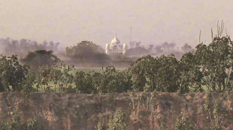 kartarpur sahib, kartarpur sahib gurudwara, indo-pak border, Gurdaspur district, kartarpur corridor, punjab province in pakistan, parkash singh badal, indian express
