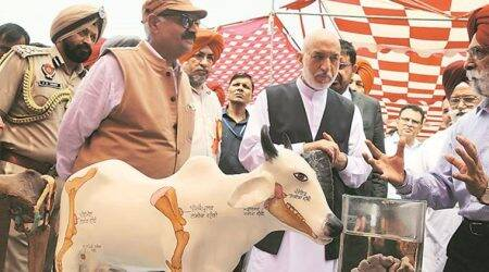 Ludhiana: Former Afghanistan president Hamid Karzai inaugurates farmer and animal fair
