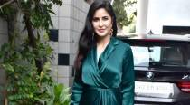 Katrina Kaif raises the glam quotient in an emerald green dress