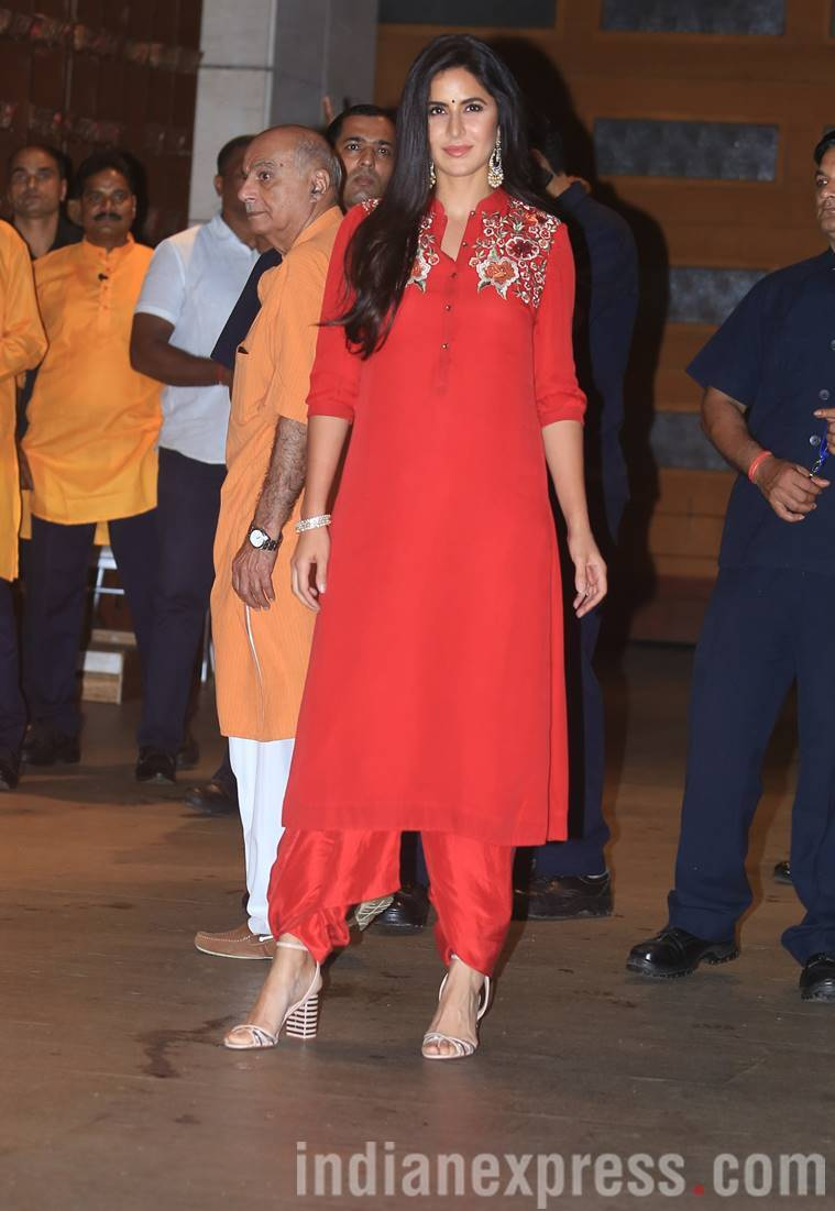 Mukesh Ambanis Ganesh Chaturthi Bash Kareena, Katrina, Madhuri, And Others Arrive -1146