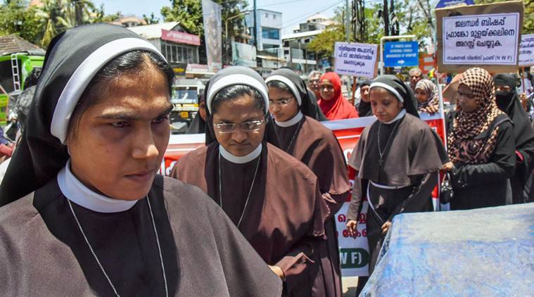 Kerala: Nun seeks justice from Vatican in rape case; accused Bishop says charges concoted