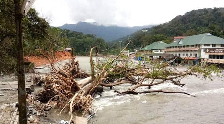 Kerala, Kerala floods, kerala rains, Kerala relief, Kerala temples, National Disaster Relief Fund, indian express