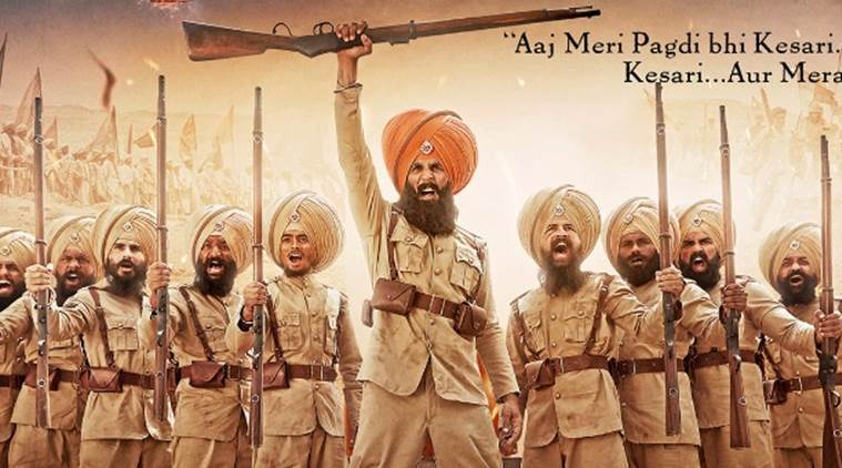 kesari first look with akshay kumar