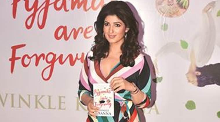 twinkle khanna, bollywood celebbrities, bollywood actors, indian express, talk page, twinkle khanna book