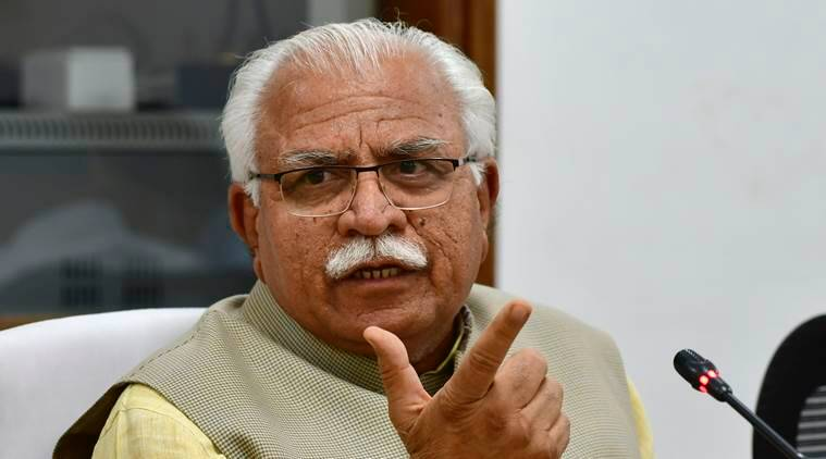Manohar Lal Khattar, haryana chief minister, SC/ST act, cases under sc/st act, court dealing with sc st cases, news courts to be set up, haryana news, indian express