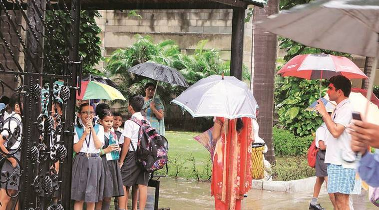 Chandigarh: Parents carry wards on back and shoulders to school, 39 miss half-yearly exam