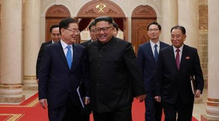 Kim Jong Un says two Koreas should further efforts for denuclearisation: KCNA