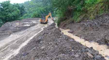 Nagaland district cut off by rains and landslides limps back to life