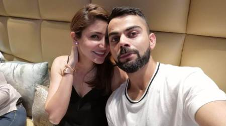 Virat Kohli chills at his restaurant alongside 'great company' Anushka Sharma