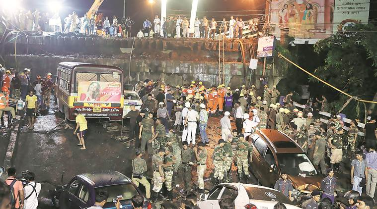 Kolkata Majherhat bridge collpase brings back horrors of Vivekananda flyover tragedy