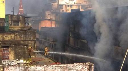 24 hours on, fire still raging at Kolkata's Bagree Market