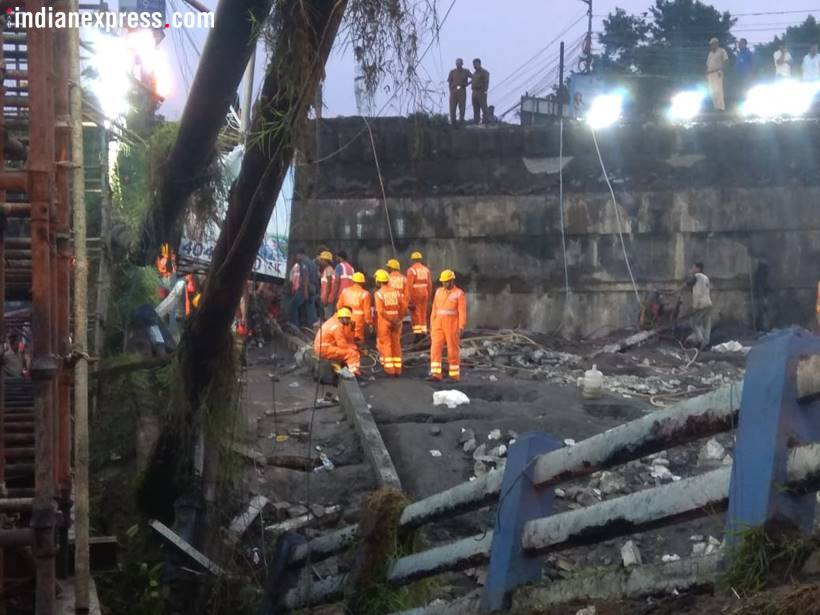 Kolkata's Majerhat bridge collapses, rescue operation underway