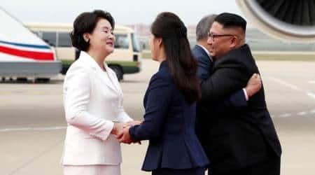 Moon Jae-in lands in North Korea with agenda — 'irreversible, permanentpeace'