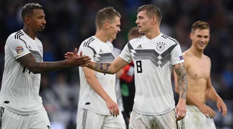 Toni Kroos to miss Germany's next two Euro 2020 qualifiers