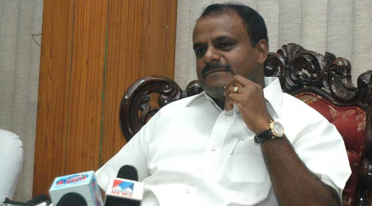 HD Kumaraswamy, Karanataka Chief minister, HD Kumaraswamy killing order, HD Kumaraswamy orders killing, Prakash murder, JDS leader murder, Janata Dal Secular, 'mercilessly kill' Kumaraswamy order, Karnataka news, India news, Indian Express