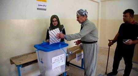 Iraq's Kurds hold elections for regional parliament