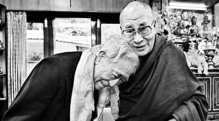 dalai lama, the dalai lama life, dalai lama new book, indian express, talk page