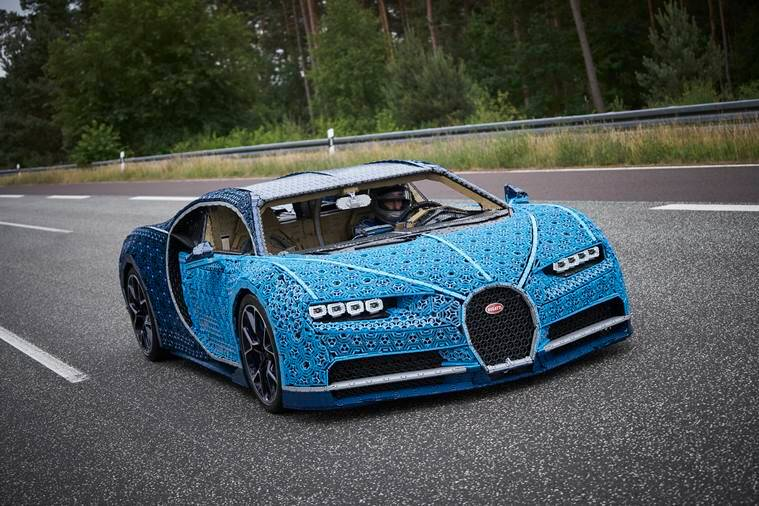 The Folks At Lego Built An Actual Drivable Bugatti Chiron